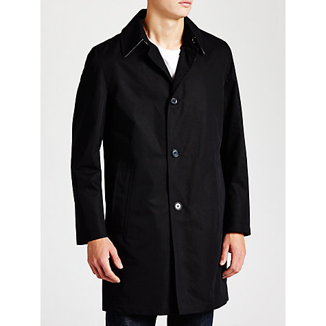 Buy Daks Neves Over Coat, Navy Online at johnlewis.com