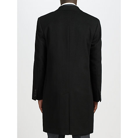 Buy John Lewis Wool Blend Slant Pocket Jacket, Black Online at johnlewis.com