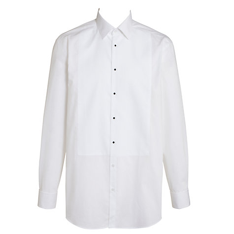 Buy John Lewis Marcello Point Collar Dress Shirt, White Online at johnlewis.com