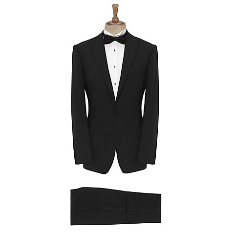 Buy Daniel Hechter Notch Lapel Wool Tailored Dinner Jacket, Black Online at johnlewis.com