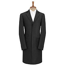 Buy John Lewis Epsom Herringbone Coat, Charcoal Online at johnlewis.com