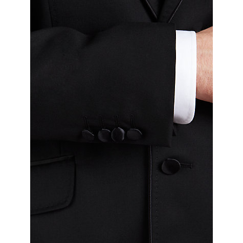 Buy Ted Baker Owlz Piped Tuxedo Wool Jacket, Black Online at johnlewis.com