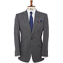 Buy Chester Barrie Semi Plain Flannel Jacket Online at johnlewis.com