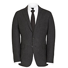 Buy Richard James Mayfair Herringbone Suit Jacket, Charcoal Online at johnlewis.com
