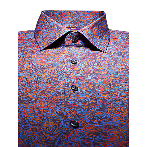 Buy Duchamp Redressa Paisley Print Long Sleeve Shirt Online at johnlewis.com