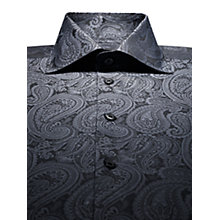 Buy Duchamp Art Deco Paisley Long Sleeve Shirt Online at johnlewis.com
