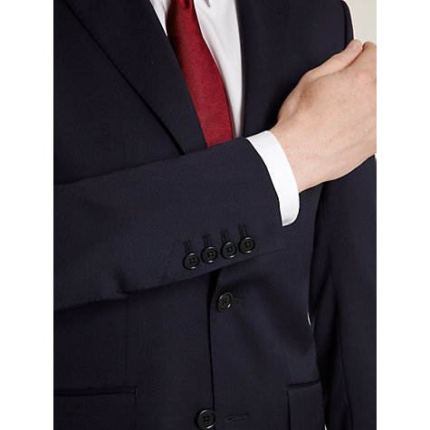 Buy Hardy Amies Milled Twill Suit Jacket, French Navy Online at johnlewis.com