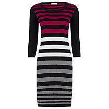 Buy Planet Knit Jumper Dress, Multi Dark Online at johnlewis.com