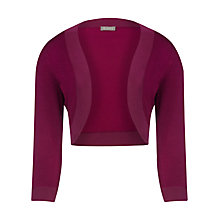 Buy Planet Knitted Shrug, Cherry Online at johnlewis.com