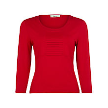 Buy Precis Petite Jersey Top, Scarlet Online at johnlewis.com