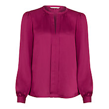 Buy Planet Cherry Satin Blouse, Cherry Online at johnlewis.com