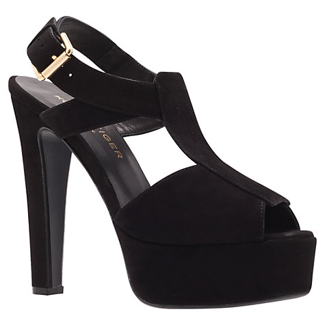 Buy Kurt Geiger Gabrielle Platform Sandals, Black Online at johnlewis.com