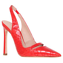 Buy Kurt Geiger Chrissie Slingback Court Shoes Online at johnlewis.com