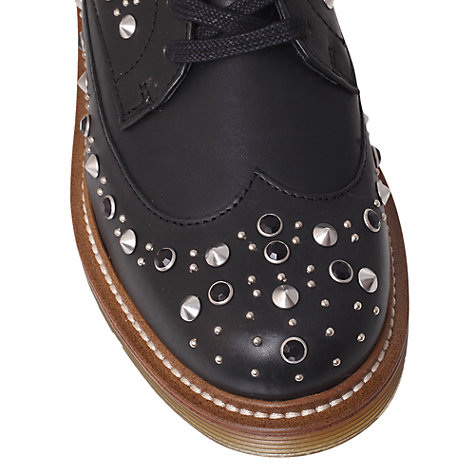 Buy KG by Kurt Geiger Lisbeth Brogues, Black Online at johnlewis.com