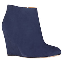 Buy Nine West Riguma Ankle Boots, Blue Online at johnlewis.com