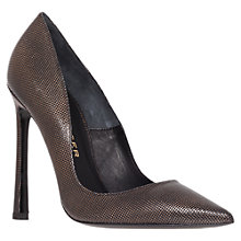Buy Kurt Geiger Cilla Court Shoes, Black Online at johnlewis.com