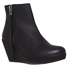 Buy Kurt Geiger Stepney Ankle Boots, Black Online at johnlewis.com