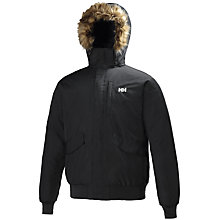 Buy Helly Hansen Dubliner Bomber Jacket, Black Online at johnlewis.com