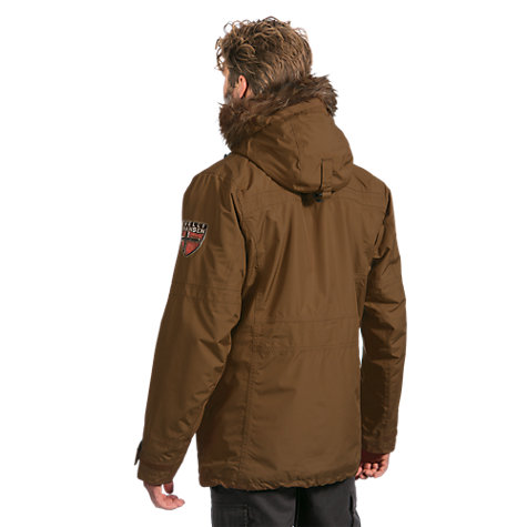 Buy Helly Hansen Coastal Parka, Brown Online at johnlewis.com