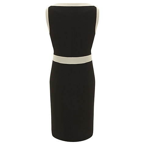 Buy Havren Contrast Bow Dress, Black/Cream Online at johnlewis.com