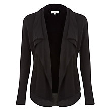 Buy Kaliko Waterfall Cardi, Black Online at johnlewis.com