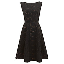 Buy Havren Embroidery Anglaise Dress, Black Online at johnlewis.com