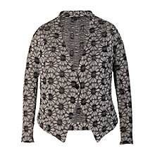 Buy Chesca Daisy Lace Cardigan, Grey Online at johnlewis.com
