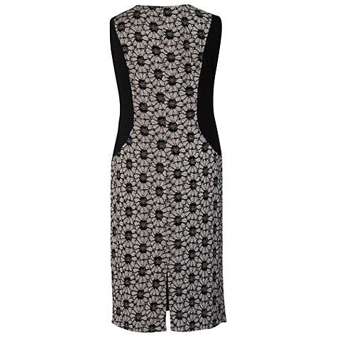 Buy Chesca Daisy Contrast Trim Dress, Grey Online at johnlewis.com