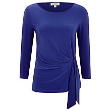 Buy Kaliko Cobalt Side Tie Top, Royal Blue Online at johnlewis.com