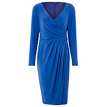 Buy Alexon Crossover Jersey Dress, Cobalt Online at johnlewis.com