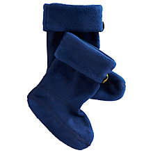 Buy Baby Joule Welly Socks, Navy Online at johnlewis.com