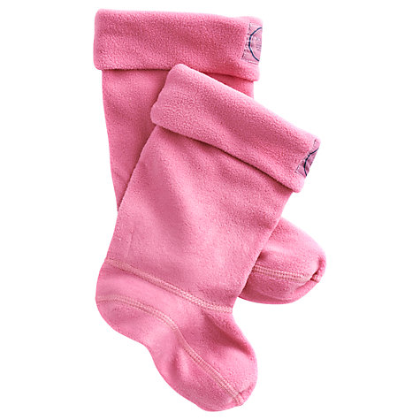 Buy Baby Joule Welly Socks, Pink Online at johnlewis.com