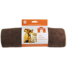 Buy e-cloth Cleaning and Drying Pet Towel Online at johnlewis.com