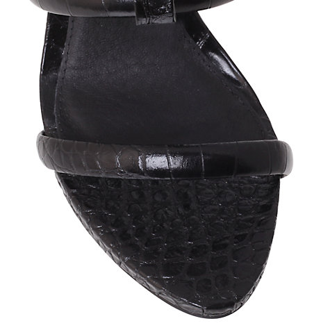 Buy KG by Kurt Geiger Grace Occasion Sandals, Black Online at johnlewis.com