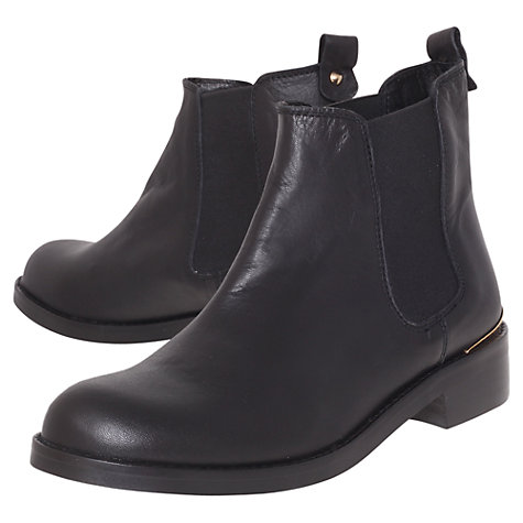 Buy KG by Kurt Geiger Short Leather Chelsea Boots Online at johnlewis.com