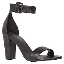 Buy KG by Kurt Geiger Cristal Heeled Sandals, Black Online at johnlewis.com