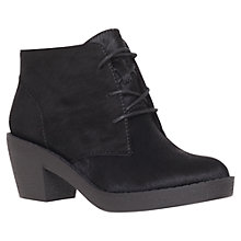 Buy KG by Kurt Geiger Sandy Ankle Boots, Black Online at johnlewis.com