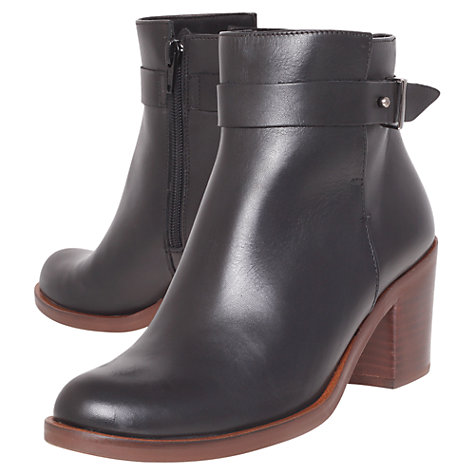 Buy KG by Kurt Geiger Sasha Ankle Boots, Black Online at johnlewis.com