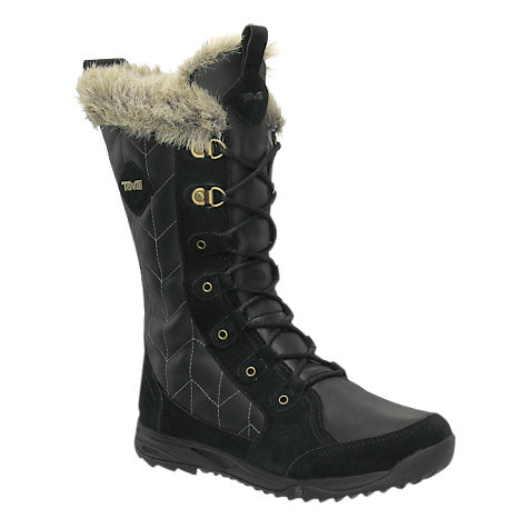 Buy Teva Lenawee WP Leather Snow Boots Online at johnlewis.com