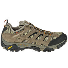 Buy Merrell Men's Moab Ventilator Hiking Shoes, Grey Online at johnlewis.com
