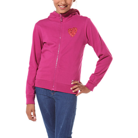 Buy Desigual Abadim Reversible Zipped Hoodie, Multi Online at johnlewis.com