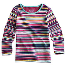 Buy Little Joule Pickle Multi Stripe Top, Multi Online at johnlewis.com