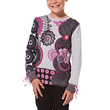 Buy Desigual Alfonso Long Sleeve Top Online at johnlewis.com