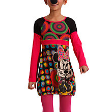 Buy Desigual Disney Minnie Mouse Dress, Multi Online at johnlewis.com