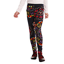 Buy Desigual Abeille Leggings, Black Online at johnlewis.com