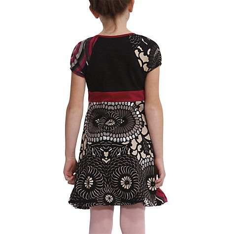Buy Desigual Gasteria Dress, Black Online at johnlewis.com