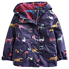 Buy Little Joule Kirstie Horse Jacket, Navy Online at johnlewis.com