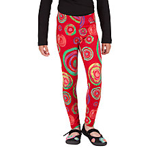 Buy Desigual Karakrep Leggings, Red Online at johnlewis.com