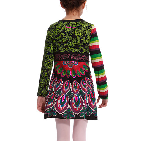 Buy Desigual Eklonis Dress, Black Online at johnlewis.com