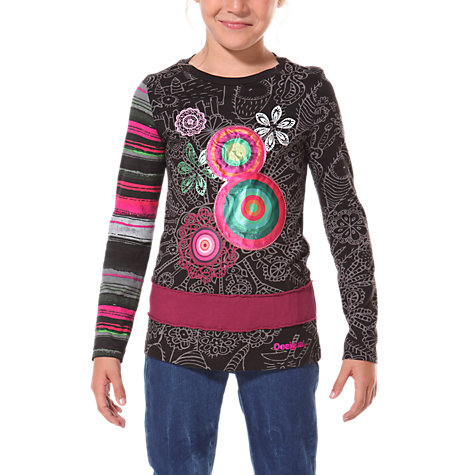 Buy Desigual London Long Sleeved Top Online at johnlewis.com